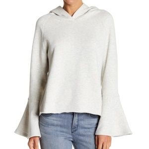 Melrose and Market Bell Sleeve hooded Sweatshirt